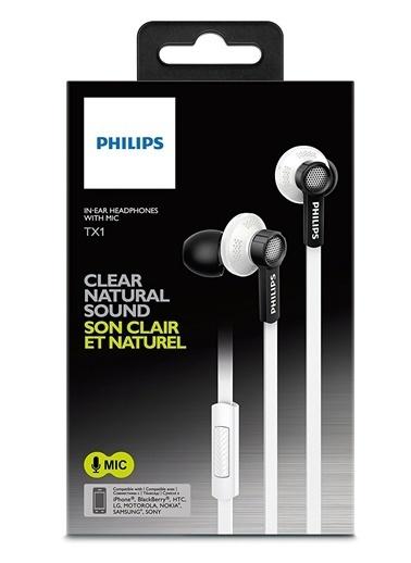 Philips TX1WT/00 Hi Res Audio Mikrofonlu Kulakiçi Kulaklık Beyaz